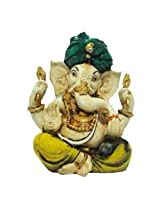 "The Bombay Store Resin Ganesh Modak L 5"" H 6"""
