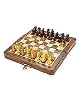 Chess Board/Set - Sheeshamwood Chess Board - CNC-MT-5 - By CHESSNCRAFTS