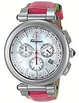Salvatore Ferragamo Womens FI3010014 IDILLIO Analog Display Swiss Quartz Pink Watch