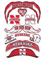 StacheTATS Nebraska Temporary Mustache Tattoos
