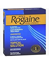 Rogaine for Men Hair Regrowth Treatment Extra Strength Original Unscented -PPI