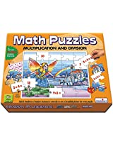 Creative Educational Aids 0734 Math Puzzles - Multiplication and Division