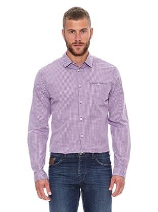 Chevignon Camisa Cuadros (Granate)