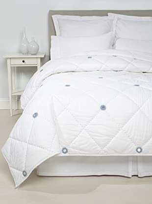 Jaipur Bedding Diamond Sheesha Quilt (White)