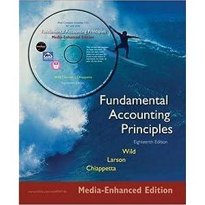 Fundamental Accounting Principles: Media-enhanced Edition Barbara Chiappetta