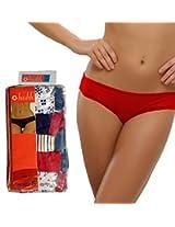 Seasons Hushh Pack Of 5 High Waist Panties B110B1103KW_Multi