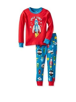 Hatley  Pijama Mircino (Rojo / Azul)