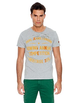 Pepe Jeans T-Shirt Beckley (Grau)