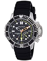 Nautica Sports Analog Black Dial Men's Watch - NAI47500G