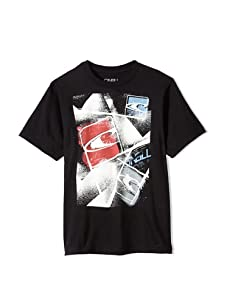 O'Neill Boy's 8-20 Chaos Graphic Tee (Black)