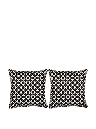 Set of 2 Hockley Pillows (Noir)