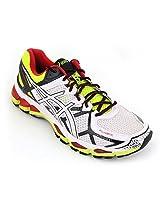 Asics Men's Gel Kayano 21 Multi-Coloured Mesh Running Shoes Us 10.5