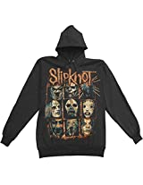 Slipknot Sulfer Pullover Balck Hoodie-large