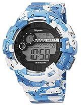 Burgmeister Men's BM803-023 Digital Display Quartz Blue Watch