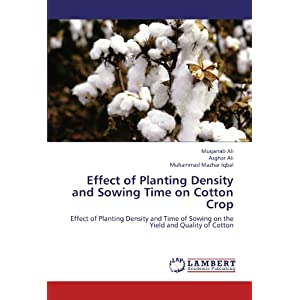 Effect of Planting Density and Sowing Time on Cotton Crop