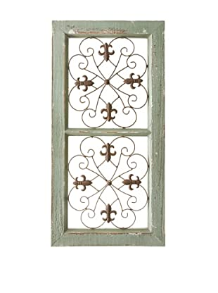 Wooden & Metal Wall Panel