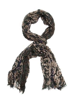 Purificación Garcia Pashmina Leopardo verde