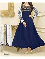 Ruda Karishma Kapoor Georgette Anarkali Suit Dr1498