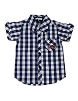 Absorba Boys' 6-12 Months Cotton Shirt (Blue)