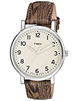 Timex Analog Off-White Dial Unisex Watch - T2P223