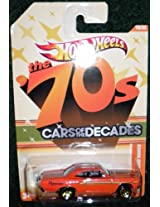 2010 HOT WHEELS THE 70S CARS OF THE DECADES 19/32 ORANGE 70 PLYMOUTH ROAD RUNNER