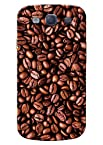 Kanvas Designer Brown Coffee Beans Mobile Hard Case For Samsung Galaxy S3
