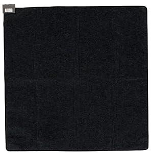 山善(YAMAZEN) 省エネふわふわホットカーペット本体(2畳タイプ) ブラック NUF-E201
