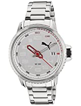 Puma Analog White Dial Men's Watch - 89225604