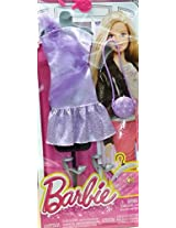 Barbie Complete Look Fashion Pack Purple Dress