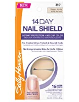 Sally Hansen 14 Day Nail Shield, Sheer Nude, 16 Count