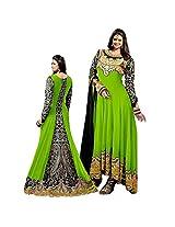 Zari Work Designer Long Anarkali Suit
