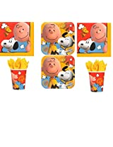 Peanuts, Charlie Brown Party Pack For 16 Guests