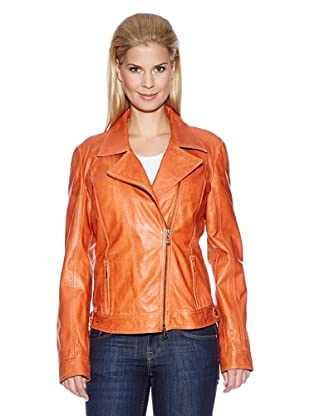 OTTO KERN Lederjacke (Orange)