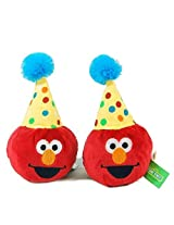 Sesame Street Elmo And Cookie Monster Party Bean Bags