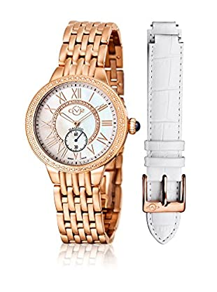 Gevril Uhr mit schweizer Quarzuhrwerk Woman Astor MOP diamonds 40 mm