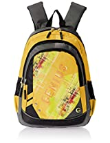 "Genius Nylon Children's Backpack (GN 1520 - 15""-YELLOW)"