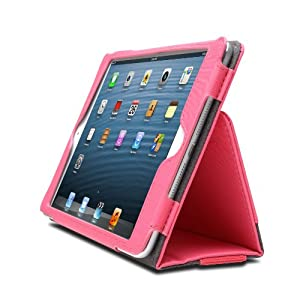 Kensington Ipad mini Soft Folio case and Stand Pink colour