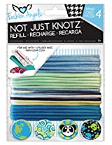 Fashion Angels Not Just Knotz Refill Pack - Blue and Green