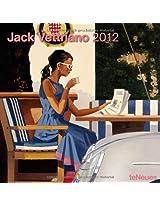 2012 Jack Vettriano Grid Calendar