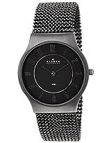 Skagen Grenen Analog Black Dial Men's Watches's Watch - 233LMM2M