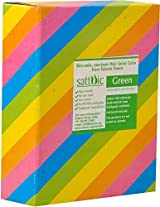 Sattvic Powder Non-Toxic Silky Holi Gulal Color (1 kg, Green)