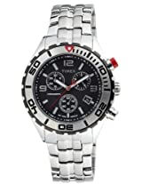 Timex E-Class Chronograph Black Dial Men's Watch - T2M759