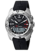 Tissot Digital Black Dial Men's Watch - T0134204720200