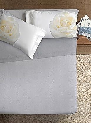 Ipersan Betttuch und Kissenbezug Fine-Art Disegno Rosa