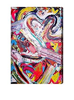 Oliver Gal Love Remix Canvas Art
