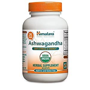 Himalaya Pure Herbs Ashwagandha 60 Capsules AD