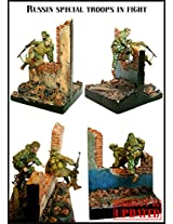 Evolution Miniatures 1:35 Russian Special Troops In Fight Resin Figure Em 35016