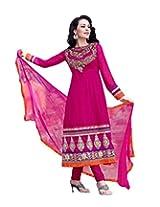 Livaaz Party Wear viscose anarkali Salwar Suit/dress material