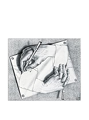 Artopweb Panel Decorativo Escher Drawing Hands, 1948 - 47x40 cm Multicolor