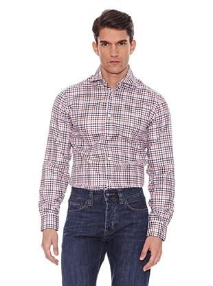 Hackett Camisa Cuadros (Rojo / Marino / Marrón)